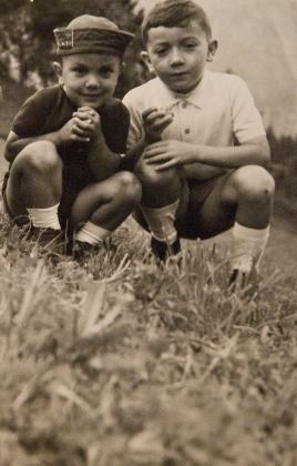 Massimo Donà e il fratello