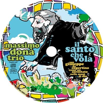 CDlabel -Massimo Donà Trio -Il Santo Che Vola -CD.jpg