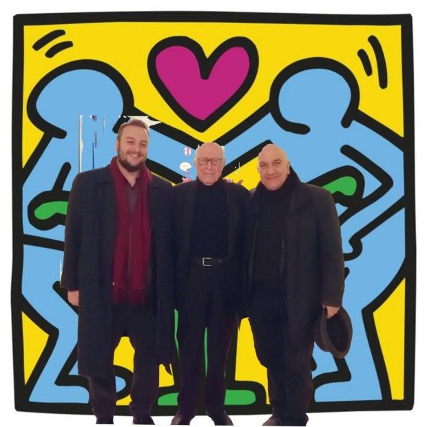 Massimo Donà, Emanuele Severino e Davide Grossi