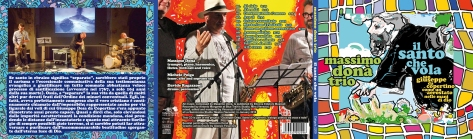 Questo è il CDfile esterno della copertina del mio nuovo cd in uscita nelle prossime settimane. E' stato reso possibile dalla Regione Puglia, che ringrazio di cuore e da Luca Nolasco, amico carissimo e appassionato sostenitore del progetto legato al Santo di Copertino. Con me suonano Michele Polga al sax e Davide Ragazzoni alla batteria.