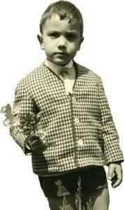 Massimo Don+á quan'era piccolo, tanto piccolino