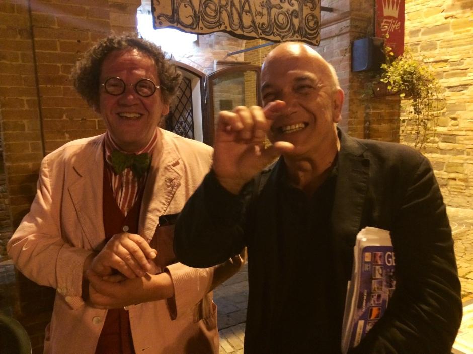 1 Massimo DOnà con PHILIPPE DAVERIO... bella serata !