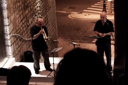 MASSIMO DONA' con TIZIANO SCARPA (performance a POTENZA, in Basilicata)