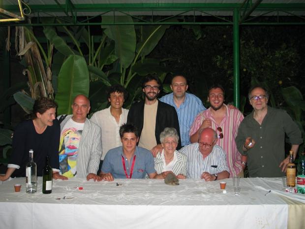 3) PROCIDA 2005 Con me e Raffaella TOFFOLO ci sono EMANUELE SEVERINO, la moglie VIOLETTA, LUCA ARIOSTINI DAVIDE GROSSI ENRICO GHEZZI etc.