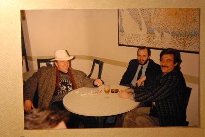 Credo nella seconda metà degli anni 80... o all'inizio degli anni 90 nella mitica pizzeria-ristorante CIP e CIOP a Mestre con gli amici VIRGILIO BISCARO e MICHELE ZAGGIA