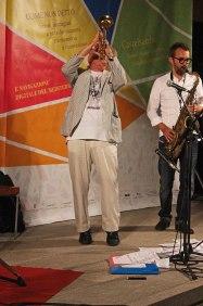 Massimo Donà e Michele Polga durante il concerto a CASTELSARDO - 20 settembre 2015