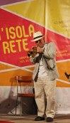 Durante il concerto del Massimo Donà TRIO a Castelsardo - 20 settembre 2015
