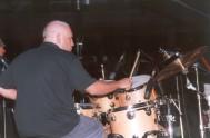DAVIDE RAGAZZONI durante un concerto con il MASSIMO DONA' QUINTE