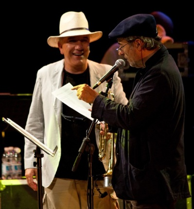 Massimo Donà con David Riondino
