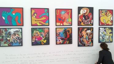 Opere di Massimo Donà esposte durante la mostra ai Magazzini delle Zattere del 2012