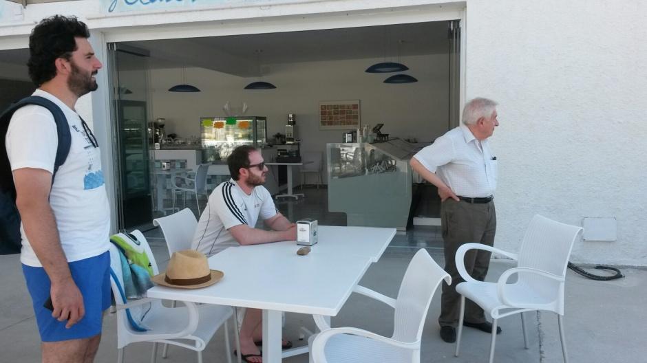 Giacomo Petrarca, Federico Croci e VIncenzo VItiello in Sardegna durante la SUMMER SCHOOL del 2015