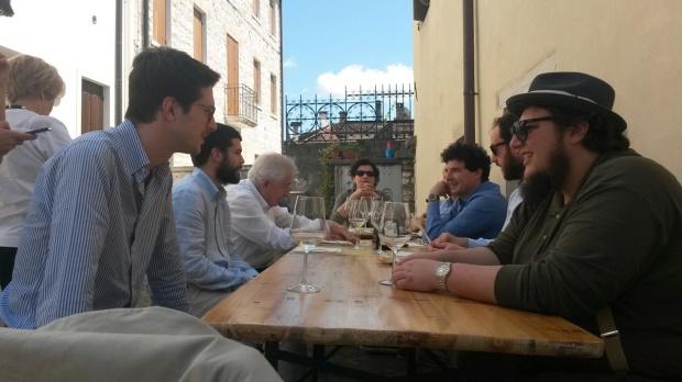 Maggio 2015 - A pranzo durante VINO IN VILLA FESTIVAL