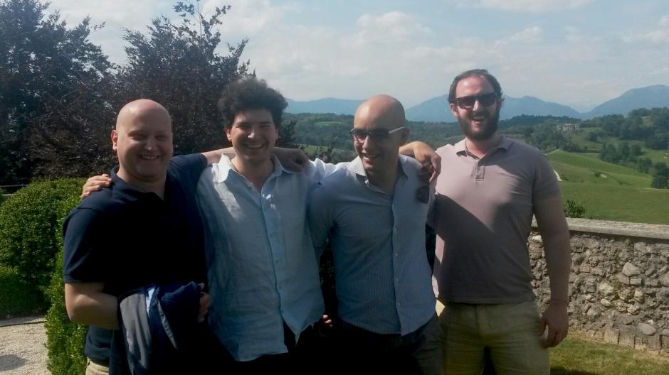 Marco Bruni, Federico Nicolaci, Alfredo Gatto e Federico Croci