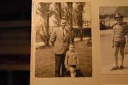 Massimo Donà con il padre