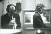 Seconda metà degli anno Ottanta... in studio di registrazione MASSIMO DONA' e DANIELE CIMITAN