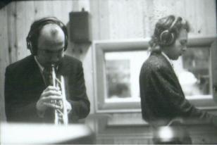 MASSIMO DONA' con DANIELE CIMITAN in studio di registrazione