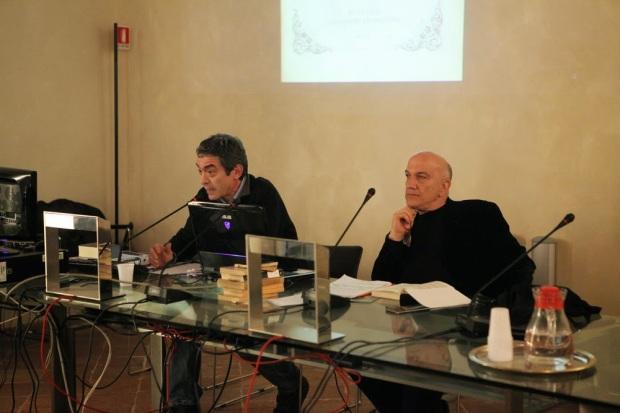 Massimo Donà con CLAUDIO NOSTRI a LUGO DI RAVENNA (su Leopardi)
