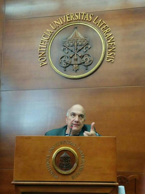 Massimo Donà 26 maggio 2016 all'UNIVERSITA' LATERANENSE Roma