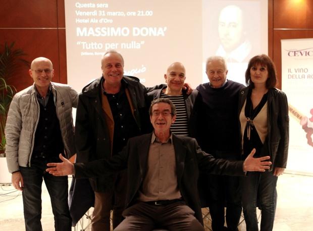 Massimo Donà a LUGO il 31 marzo 2017
