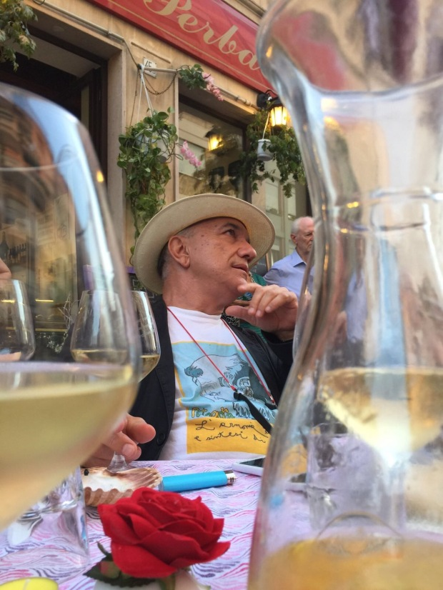 Massimo Donà a MESTRE al Per Bacco (2017)