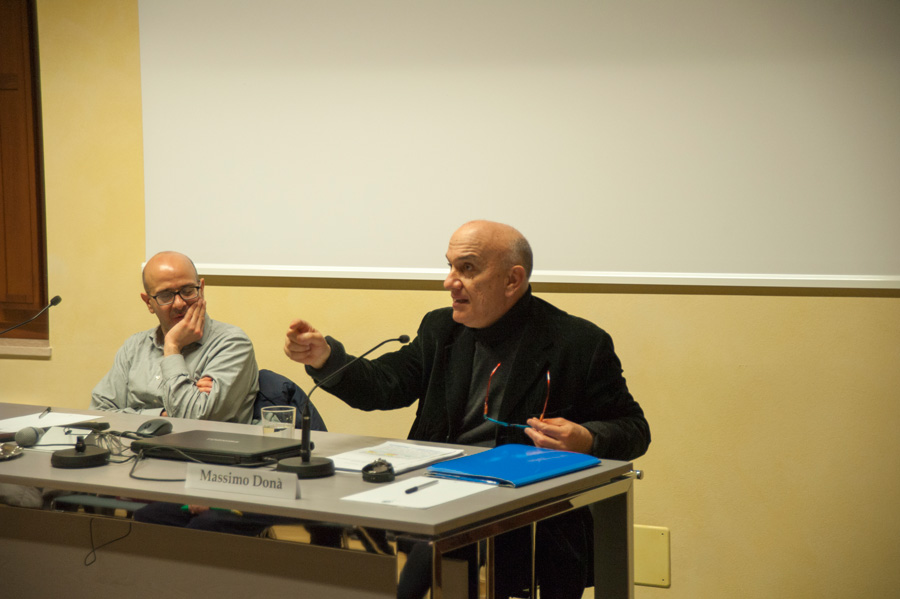 Massimo Donà al COLLEGIO CAMPOSTRINI (Verona) 9 marzo 2016  Assael e Donà