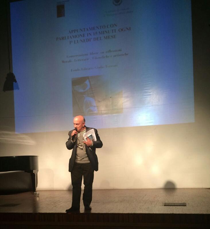 Massimo Donà al PREMIO FRASCATI FILOSOFIA 2016