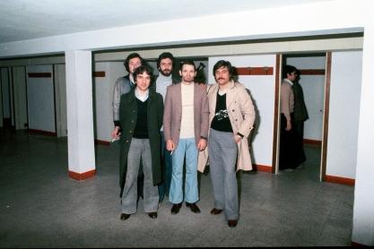 Massimo Donà con Chet Baker, Michele Zaggia e Silvio Zanoni negli anni Settanta (ancora giovincelli !!!)
