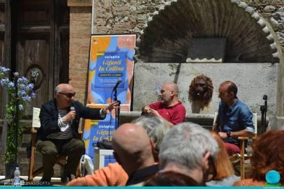 Massimo Donà con Giampaolo Gravina e Gabriele Da Prato AMELIA 2016