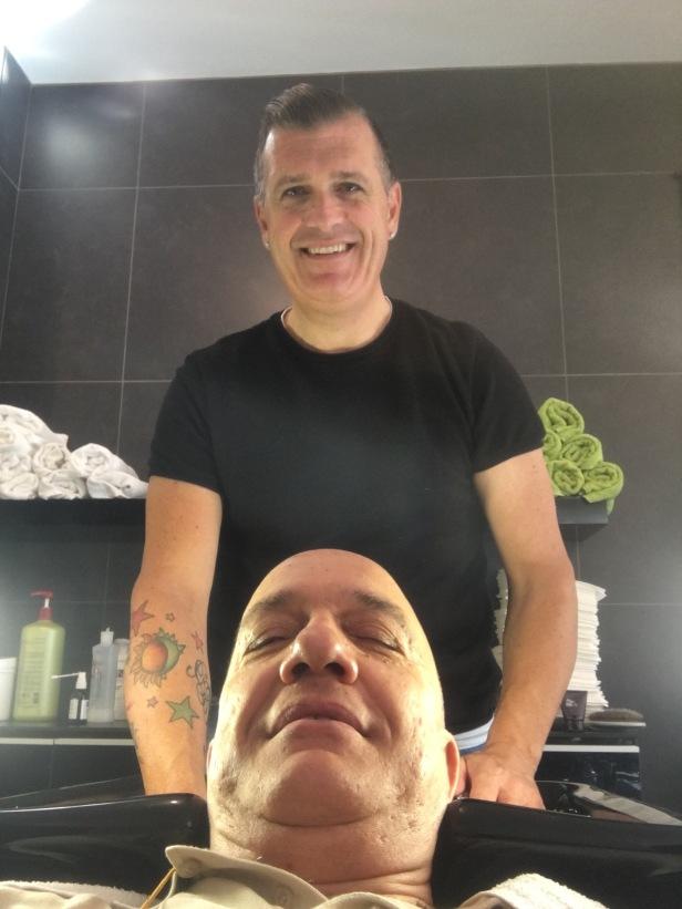 Massimo Donà dal suo Parrucchiere di fiducia (ANGELO PAVANELLO...the best!)