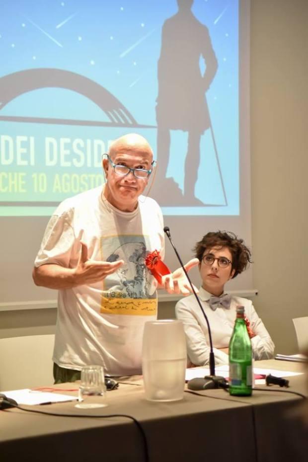 Massimo Donà e Lucrezia Ercoli a Civitanova il 10-08-2017 (POPSOPHIA)