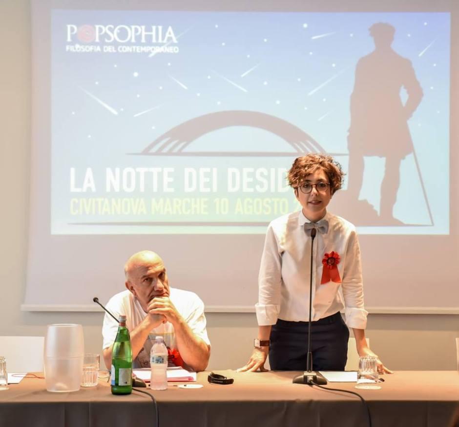 Massimo Donà e Lucrezia Ercoli a CIVITANOVA il 10 agosto 2017