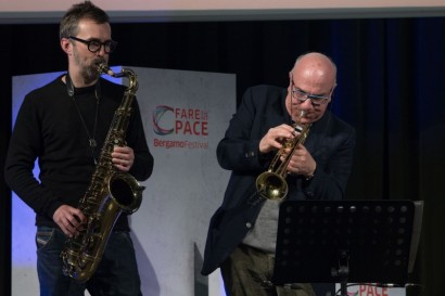 Massimo Donà, Michele Polca 4 maggio 2017 (BERGAMO)