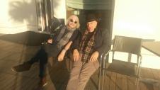 Massimo Donà ed Enrico Rava all'Hotel RAPHAEL (MIlano - 1 dicembre 2015)