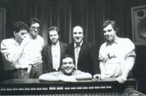 Quanto tempo è passato...seconda metà anni 80 ? o primi anni 90.... Massimo Donà con Alberto Negroni, Daniele Cimitan, Sbibu, Davide Ragazzoni e Andrea Braido