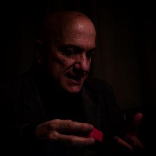 Massimo Donà nel gennaio 2017 fotografato da Maurizio Scarpa.