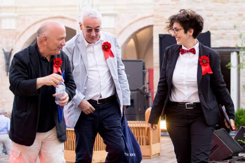 Massimo Donà GIulio Giorello e Lucrezia Ercoli
