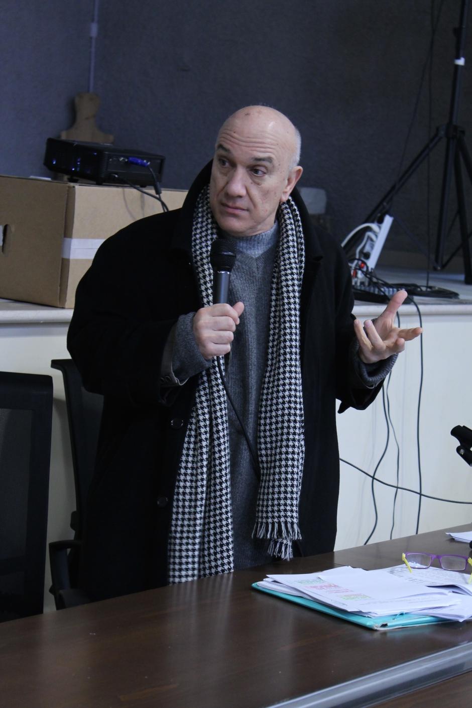 Massimo Donà in provincia di Lecce nel gennaio del 2017