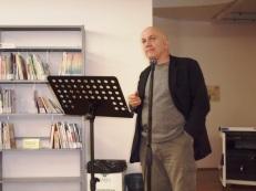 Massimo Donà durante una conferenza a Verona