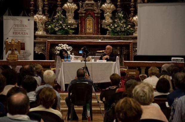 Massimo Don+á e Francesca Nodari a ORZIVECCHI