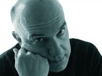 Massimo Donà. Ritratto in bianco e nero.