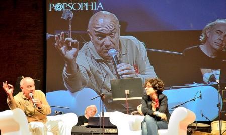 Massimo Donà con Lucrezia Ercoli a Popsophia