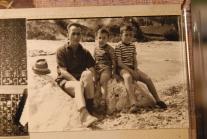 Papà ROBERTO con i figli Massimo e Claudio DONA'