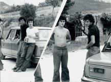 UMBRIA JAZZ - Metà anni Settanta... il giovanissimo Massimo Donà a sinistra con l'amico Virgilio Biscaro...