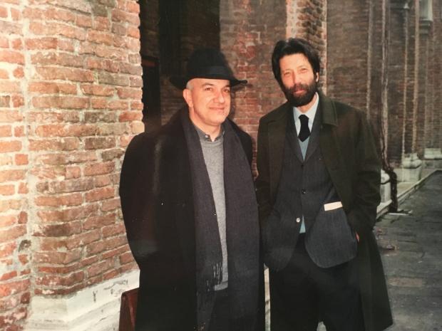 MASSIMO DONA' e MASSIMO CACCIARI verso il 2001-2002, credo...