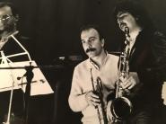 Massimo Donà e Maurizio Caldura in concerto alla fine degli anni 70 (o inizio anni 80)
