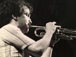 Massimo Donà, on trumpet (verso fine anni 70 o inizio anni 80)