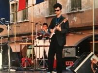 Maurizio Trionfo e Eddy De Fanti in concerto con il Massimo Donà Septet