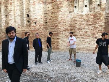 A FANO nel 2017 - Filippo Cicoli, Filippo Moretti, Tommaso Romolotti e Giuseppe Girgenti