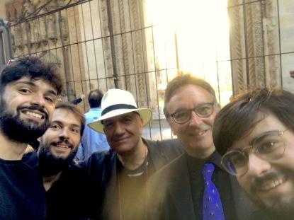A PESARO nel 2017 - Donà con Cicoli, Moretti, Romolotti e Girgenti