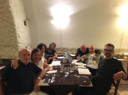 A Roccella Jonica, Massimo Donà, Claudio, Francesco, Davide e tutta la combriccola al ristorante (2017)